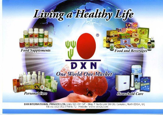 DXN Living A Healthy Life